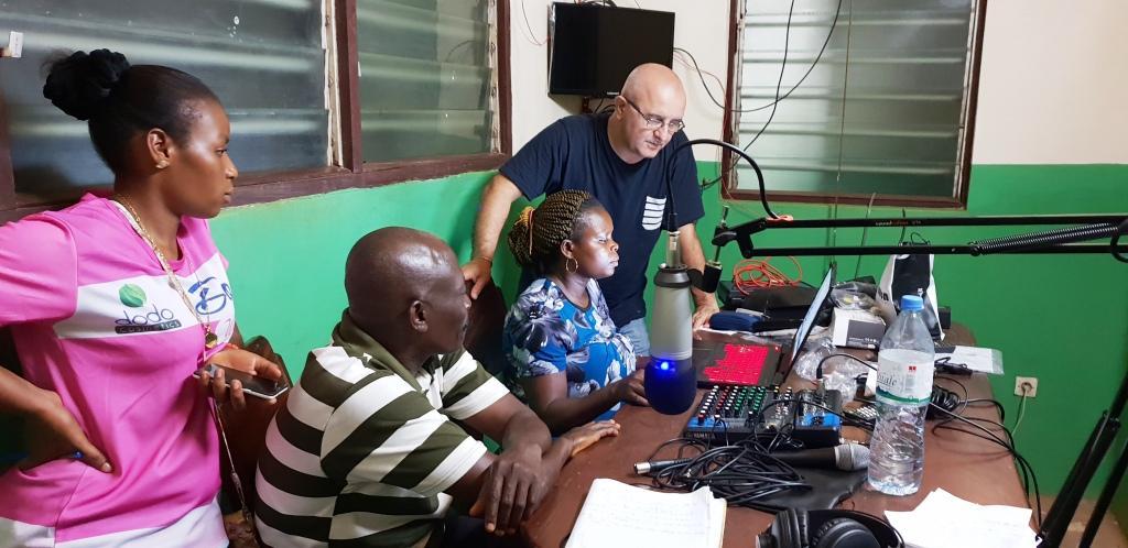 Atelier de renforcement des capacités du personnel de la Radio Speranza