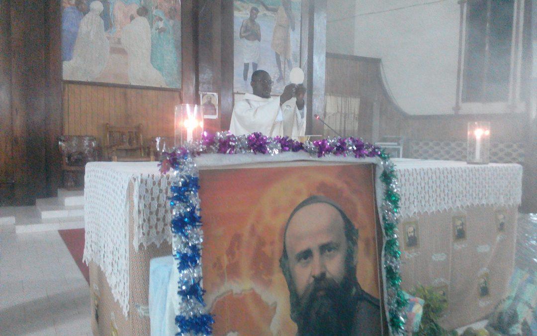 Célébration solennelle de la  fête de St Daniel Comboni à la paroisse St Esprit de Tabligbo