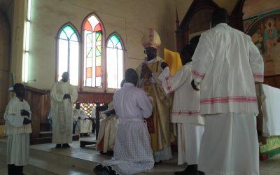Ordination diaconale de l'Abbé Christ-Roi de l'Institut Missionnaire Combonien du Cœur de Jésus