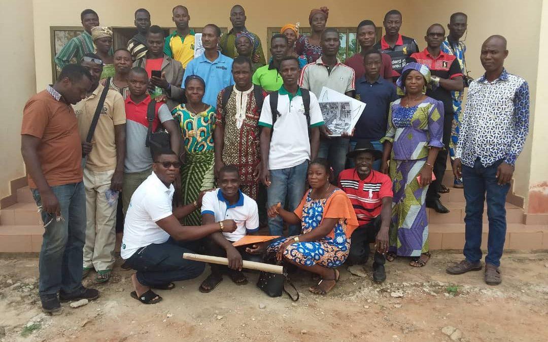 Tabligbo/Projet EJV : 56 membres de CVD et 7 intermédiaires techniques formés à Tabligbo sur l'entretien et la maintenance des infrastructures THIMO
