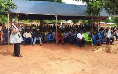COSCREMA en campagne de formation, de sensibilisation, de communication et d'information sur la décentralisation au Togo